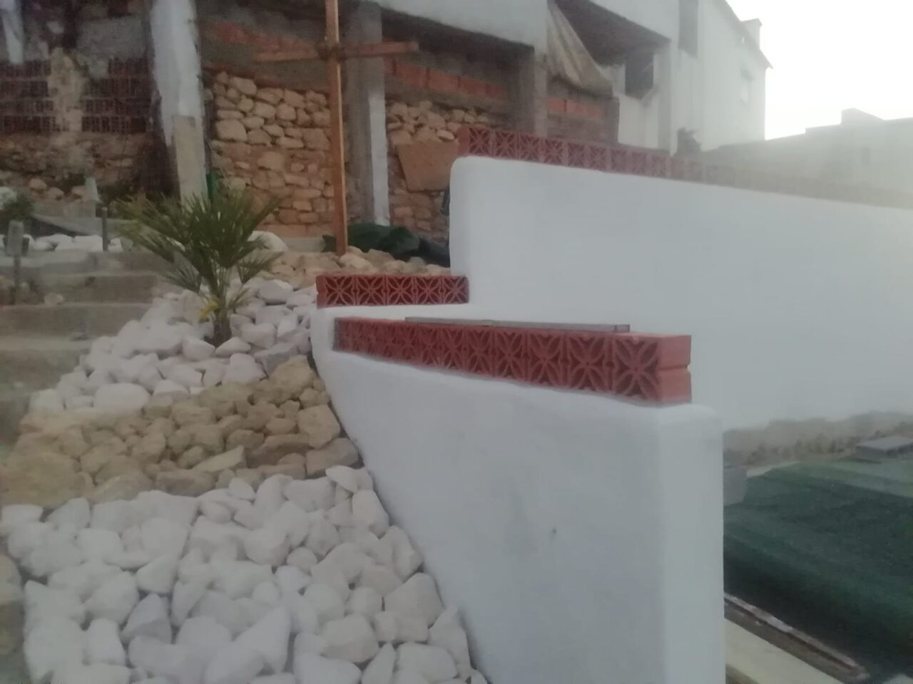 The new Rockery and Cross